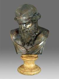 bust of dionysos naples italy